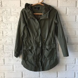 ✨army green utility jacket✨